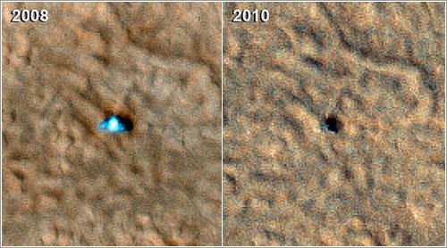Phoenix Mars Lander - NASA/JPL-Caltech/University of Arizona