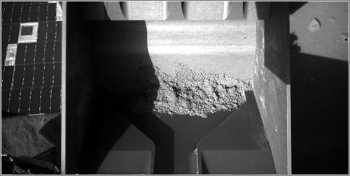 La muestra que no se quiso despegar - NASA/JPL-Caltech/University of Arizona/Max Planck Institute