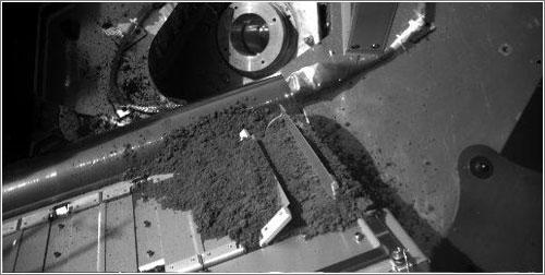 Primera muestra sobre la entrada del TEGA