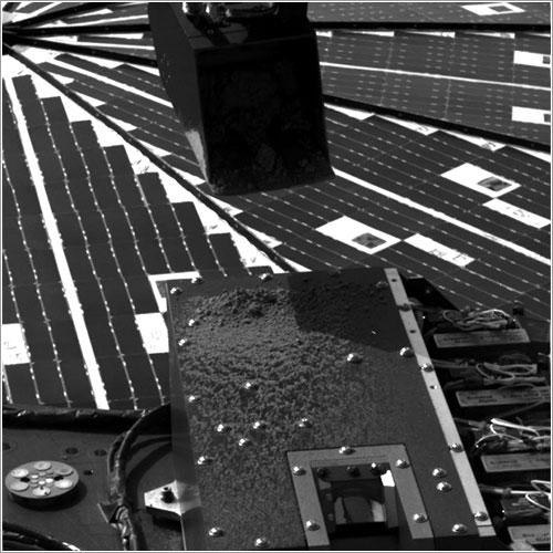 Sacudiendo el suelo marciano - NASA/JPL-Caltech/University of Arizona