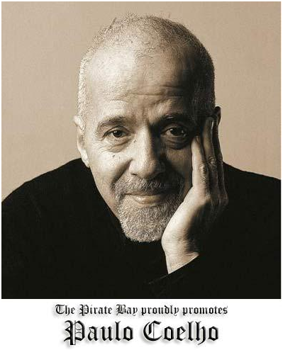 Paulo Coelho en The Pirate Bay