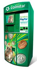 Paypal / Coinstar