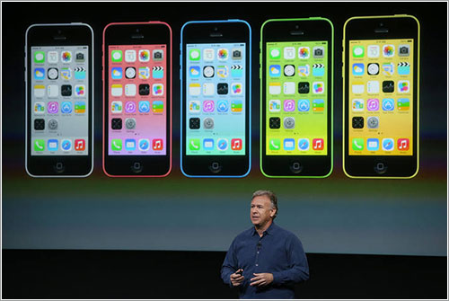 Phil Schiller y el iPhone 5C