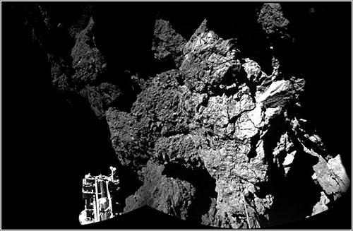 Bienvenido a un cometa