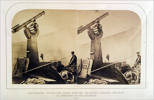 Charles Piazzi Smyth, el primero en subirse a una montaña con un telescopio