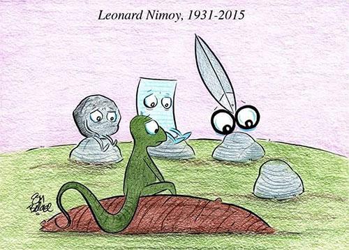 Piedra, papel, tijera, lagarto… ¿Spock? ¿Spock?