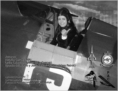 Pioneras de la aviación en Barcelona