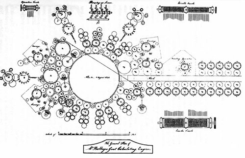 Uno de los planos de Babbage