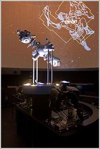 Planetario analógico y digital