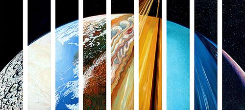 Planetary suite por Steve Gildea