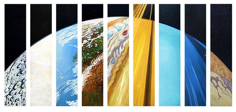 Planetary suite, versión 2016