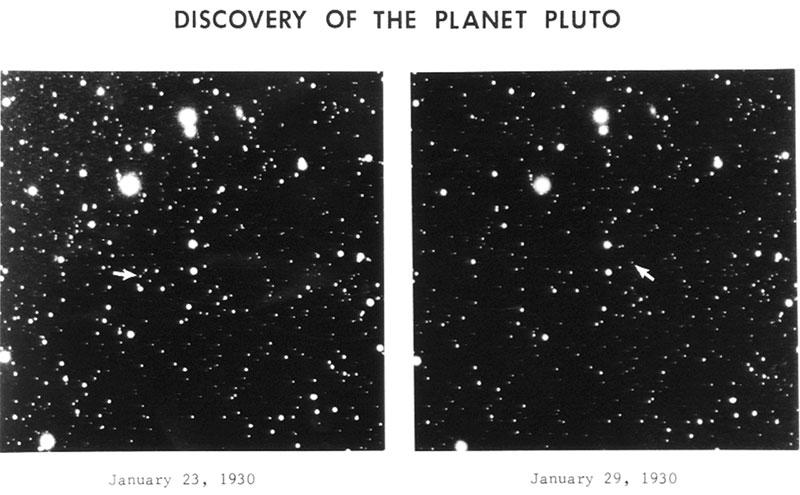 Plutón en 1930