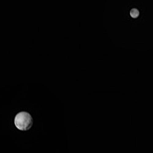 Plutón y Caronte a 18,2 millones de kilómetros