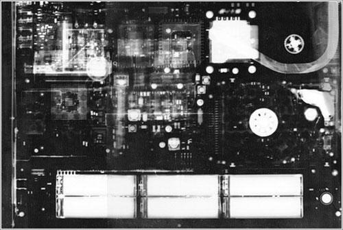 Portátil en rayos X
