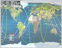 Posición de la ISS en directo - NASA