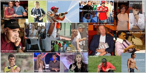 Algunos de los famosos que la usan - Kurioso