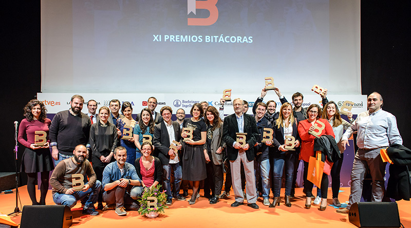 Galardonados Bitácoras 2015