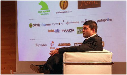Raúl Ordóñez «Jasp» durante la presentación - La Información