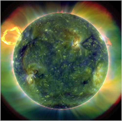 Primera imagen SDO - NASA