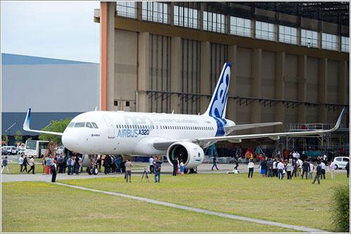 El primer A320neo