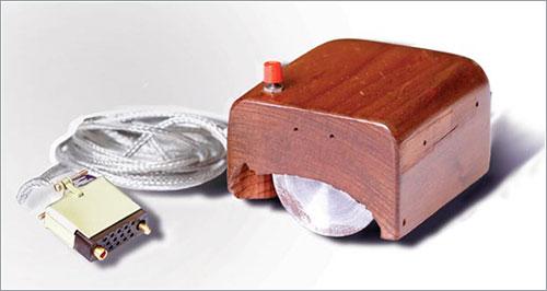 Prototipo del primer ratón de ordenador de la historia
