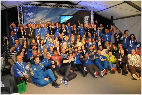 Tuiteros y astronautas - ESA