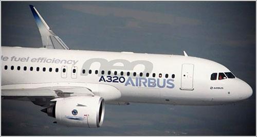 El primer A320neo en volar
