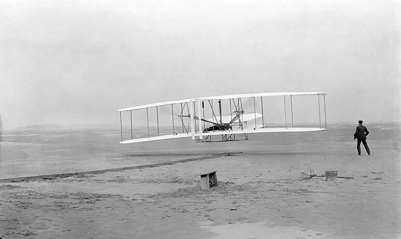 Primer vuelo del Flyer I
