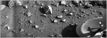 Primera imagen sonda Viking