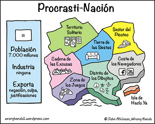 Procrasti-Nación - Original de John Atkinson, Wrong Hands