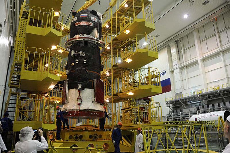 La Progres MS-01 durante su procesado