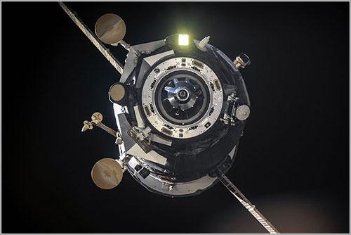 Imagen de archivo de la Progress M-17M partiendo de la ISS