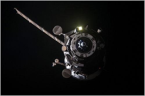 La M-19M a su partida de la EEI - NASA