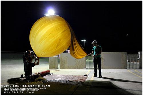 Preparando el lanzamiento de Sunrise Soar II - Sunrise Soar II Team