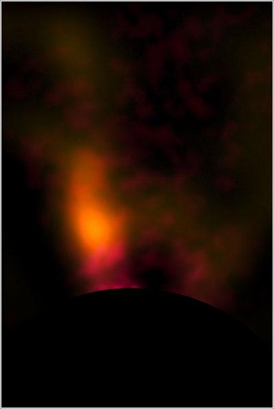 Protoplaneta alrededor de HD100546