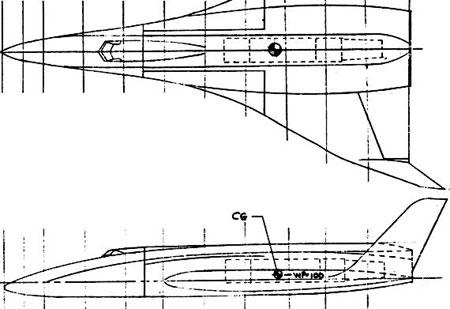 Esbozo temprano de un transbordador espacial © Rockwell