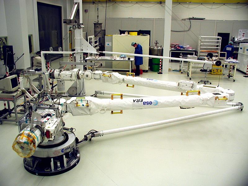 Pruebas del Brazo Robot Europeo