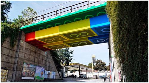 El Lego-Brücke de Wuppertal