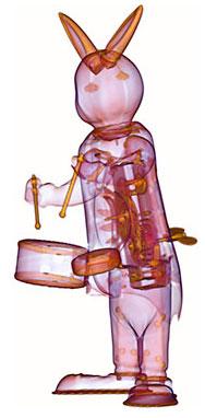 Conejo de juguete por Radiology Art