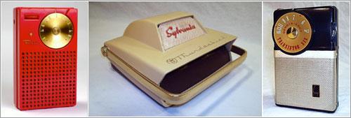 Radios de transistores por Michael Jack