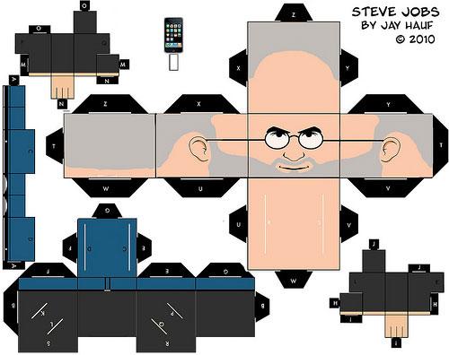 Steve Jobs Cut Out por Jay Hauf