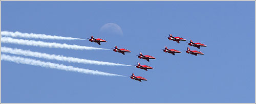 Los Red Arrows en Aire 06