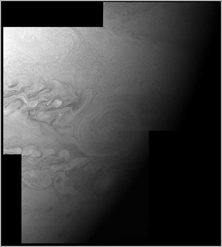 Red Jr. visto por la New Horizons © NASA/Johns Hopkins University Applied Physics Laboratory/Southwest Research Institute