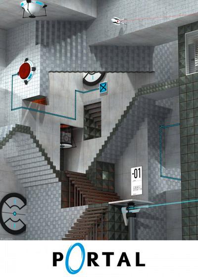 Realatividad, de Escher, estilo Portal