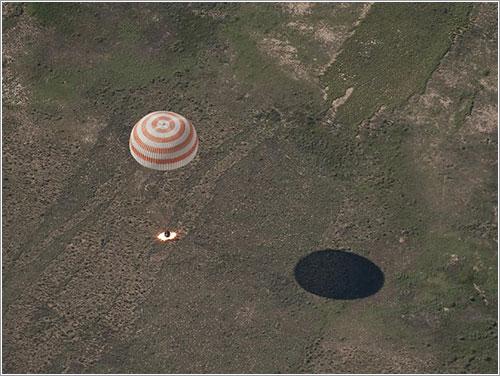 Retorno Expedición 23 - NASA/Bill Ingalls