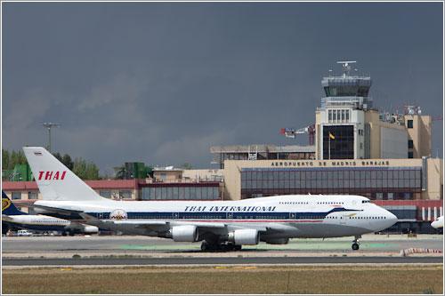 747 retro de Thai