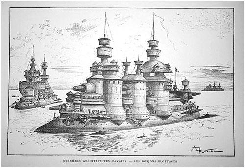 Arquitectura naval por robida