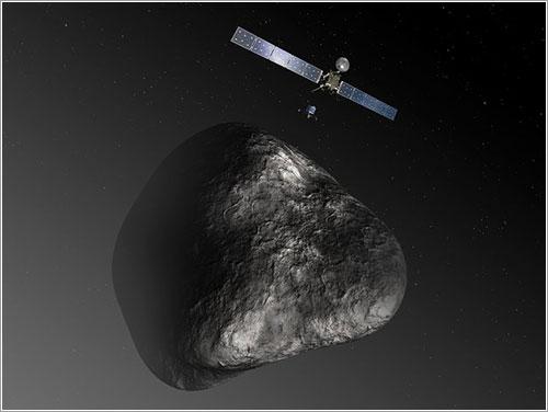 Rosetta, Philae y 67P