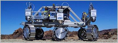 Pruebas rover © BBC News