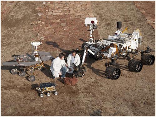 Los rover marcianos de la NASA - NASA/JPL-Caltech